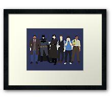 The Detectives Framed Print