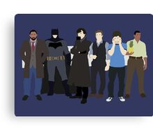 The Detectives Canvas Print
