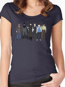 The Detectives Women's Fitted Scoop T-Shirt