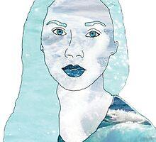 Ocean Portrait by bexsimone