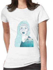 Ocean Portrait Womens Fitted T-Shirt