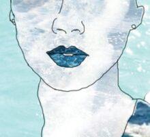 Ocean Portrait Sticker