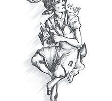 Fawnlock in a Dress by justaholmesboy