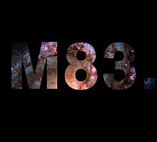 M83 galaxy cutout by Jonathan Lynch