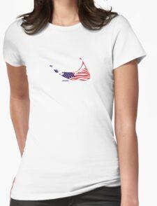 Nantucket Island - Massachusetts. Womens Fitted T-Shirt