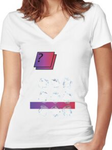 Icy Women's Fitted V-Neck T-Shirt