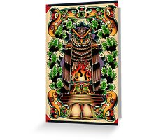Bohemians Grove Greeting Card