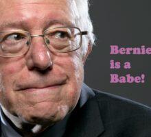 Bernie is a Babe! Sticker