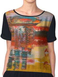 Futuristic Alien World Chiffon Top