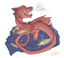 Baby Smaug - commissioned by smauglet by justaholmesboy