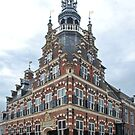 Townhall Franeker - Fryslan - Netherlands by Arie Koene