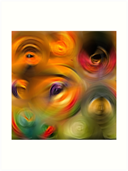 Heaven's Eyes - Abstract Art By Sharon Cummings by Sharon Cummings