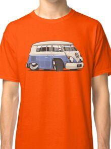 VW T1 Microbus cartoon blue Classic T-Shirt