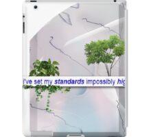 High Standards iPad Case/Skin