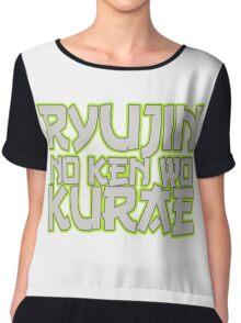 Ryujin No Ken Wo Kurae - Genji Chiffon Top