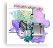 Consumer Electronics Canvas Print