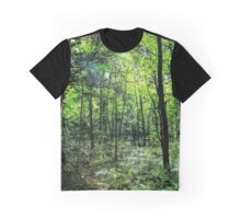 Sun shining though trees Graphic T-Shirt