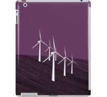 Wind Farm Grape iPad Case/Skin