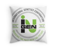 inGEN Corporation Throw Pillow