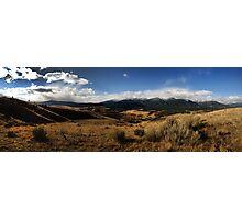 Trapper Peak Photographic Print