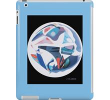 BLUE ORB COLLAGE  iPad Case/Skin