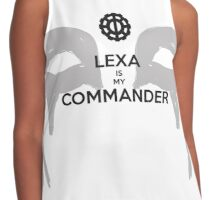 Lexa Is My Commander Contrast Tank