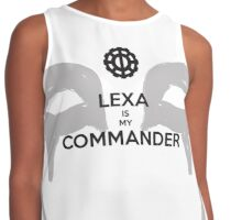 Lexa Is My Commander Contrast Tank