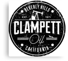 Clampett Oil Canvas Print