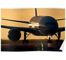 Boeing 777 Poster