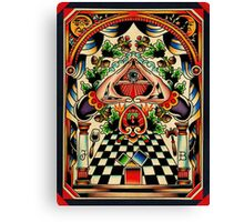 Freemasons Canvas Print