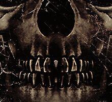 Dark Skull  by DFLC Prints