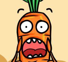 Vegetables, run! Sticker