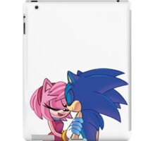 Sonamy - Sonic The Hedgehog iPad Case/Skin