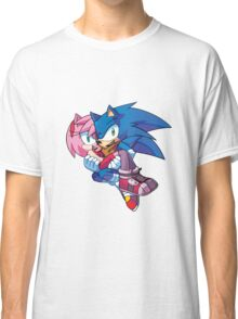Sonic Boom - Sonic & Amy Rose Classic T-Shirt