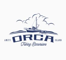 ORCA Fishing Excursions One Piece - Short Sleeve