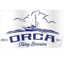 ORCA Fishing Excursions Poster