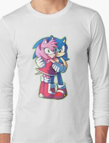 Sonic and Amy Rose (Sonamy) Long Sleeve T-Shirt