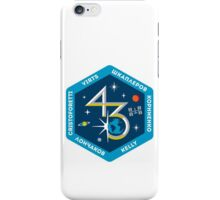 Expedition 43 Mission Patch iPhone Case/Skin