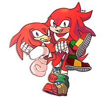 Knuckles & Knuckles Photographic Print