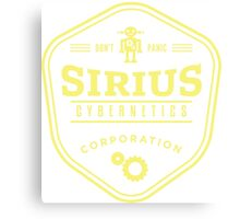 Sirius Cybernetics Canvas Print
