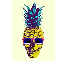 Pineapple Skull Photographic Print