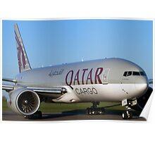 Qatar Cargo 777 Poster