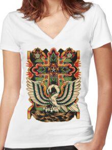 Rosicrucian Women's Fitted V-Neck T-Shirt