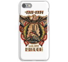 Lee Roy Minugh Chestpiece iPhone Case/Skin