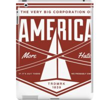 The Very Big Corporation of America iPad Case/Skin
