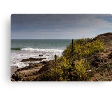 Seascape in Ecuador Canvas Print
