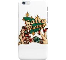 Salto Vintage  iPhone Case/Skin