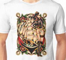 Sexy Pirate Girl Unisex T-Shirt