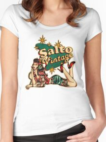 Salto Vintage  Women's Fitted Scoop T-Shirt