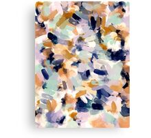 Lee - Abstract Brush Strokes Canvas Print